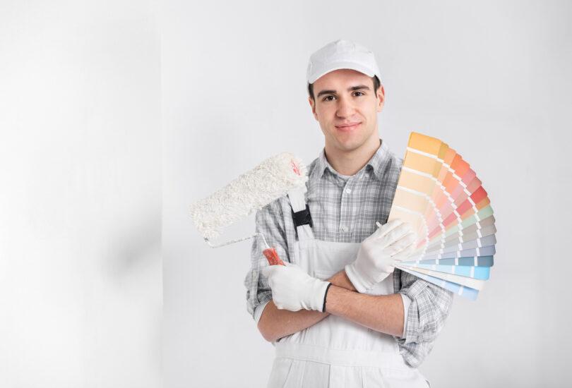travaux de rénovation peinture